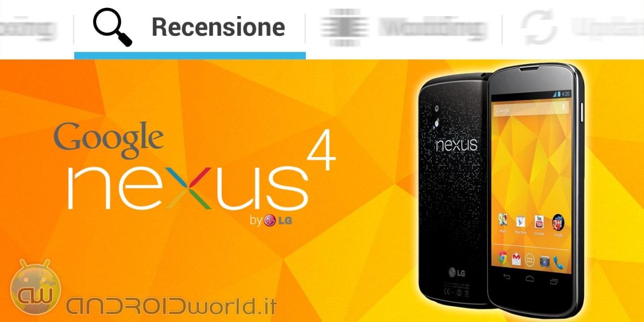 LG Nexus 4 recensione