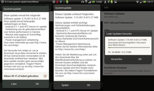 Jelly Bean HTC One S