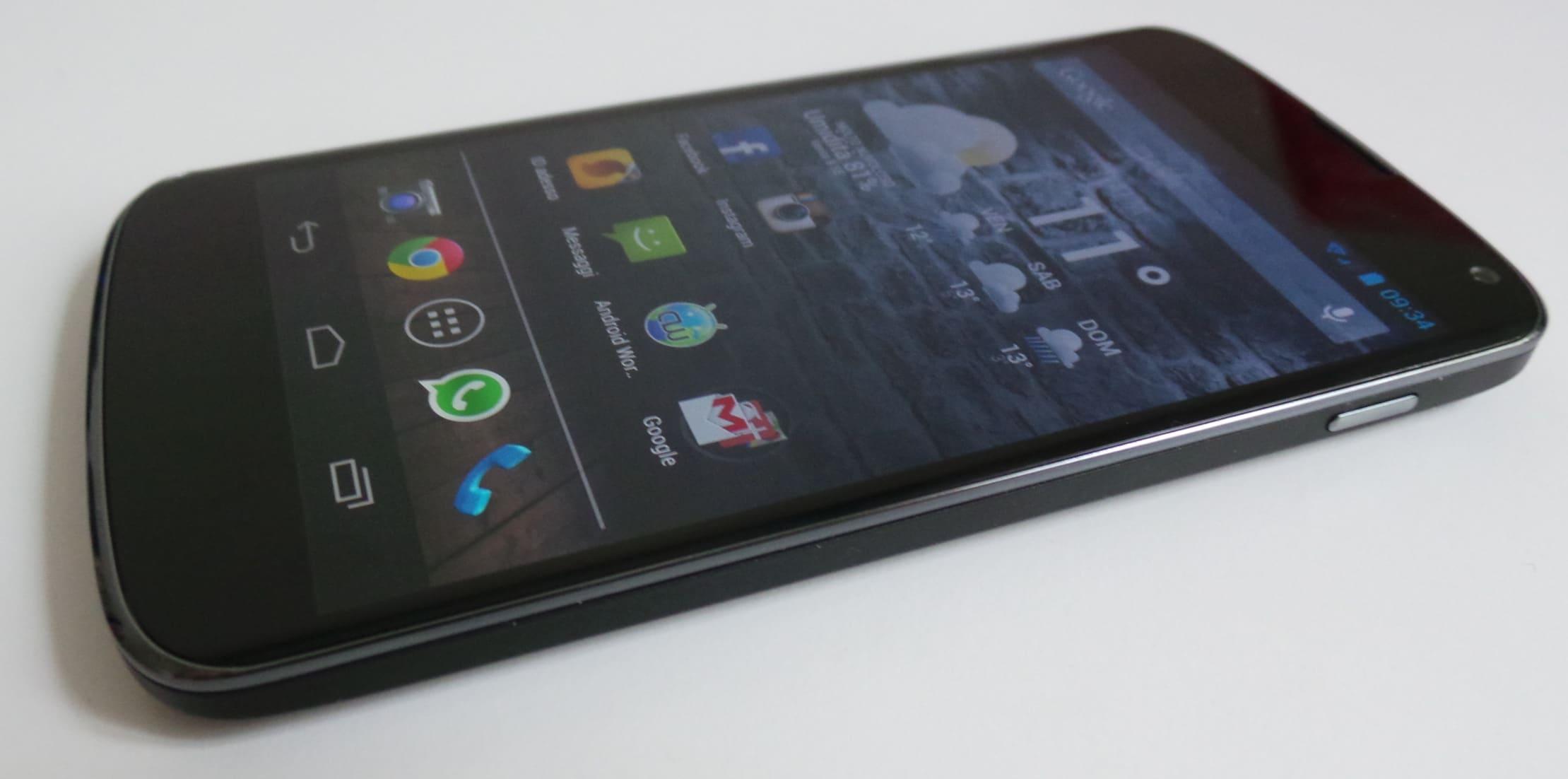 Recensione LG Nexus 4