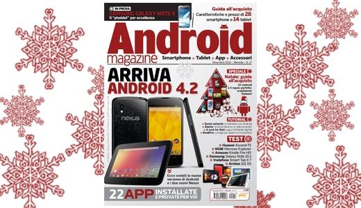 Android Magazine dicembre 2012