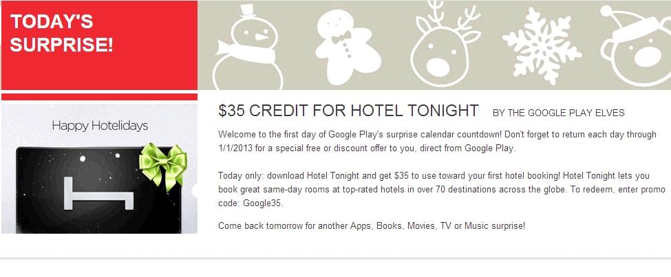 google play surprise countdown
