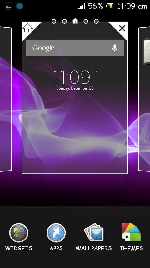 Trapelato Il Launcher Di Sony Xperia Z Yuga Foto 2 Di 3