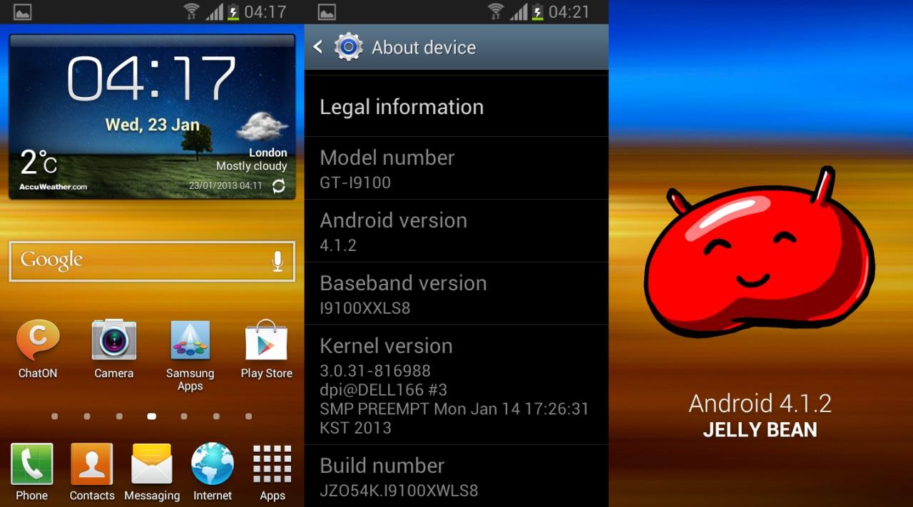 Galaxy S III Jelly Bean (2)