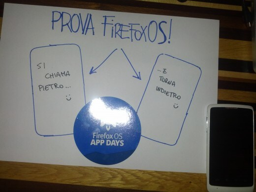 Prova Firefox OS - Si chiama Pietro...