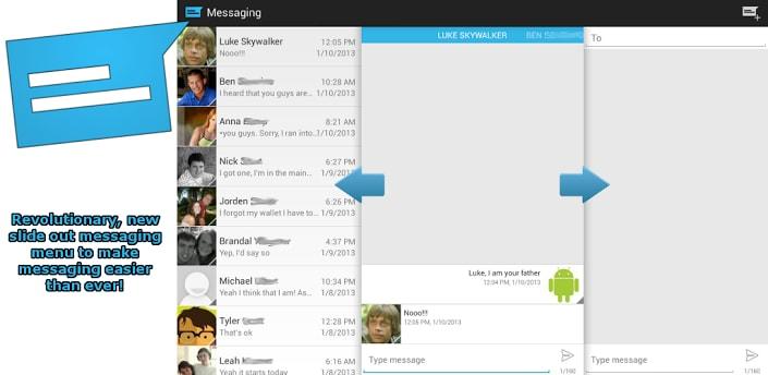 sliding-messaging