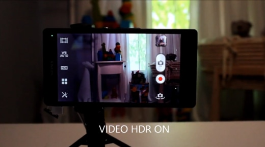 sony hdr video