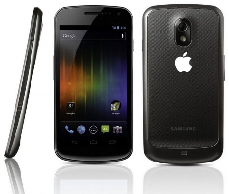 Apple Galaxy Nexus
