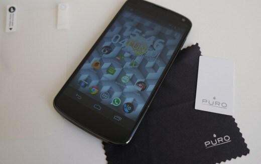 Custodia e pellicola Nexus 4 07