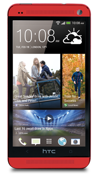 htc one rosso