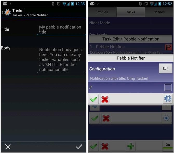 pebble notifier