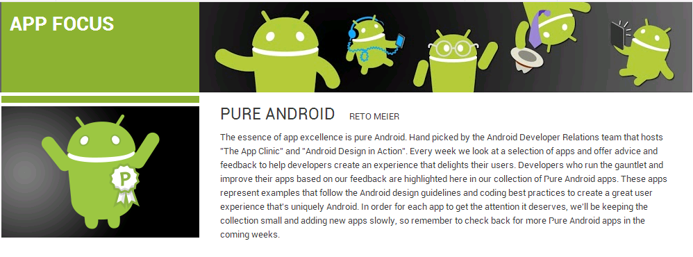 pure android