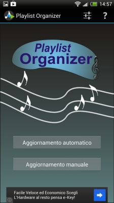 Playlist Organizer