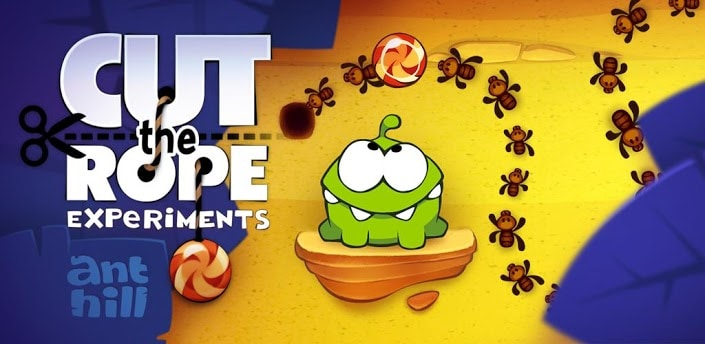 Cut the Rope: Experiments gratis solo per oggi su Amazon App-Shop