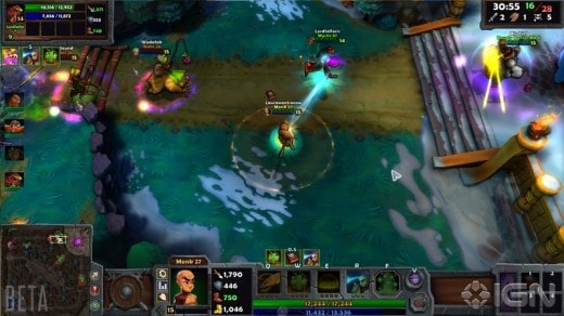Dungeon Defenders II Competitive play