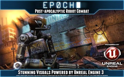 Ios And Android News: EPOCH: a new action game with robots and