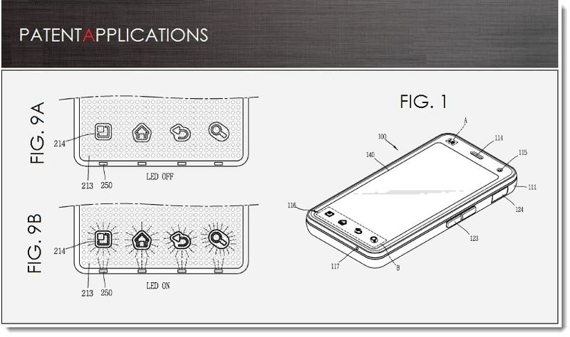 LG brevetto LED