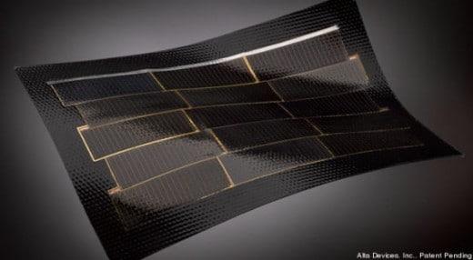 Microfilm celle solari