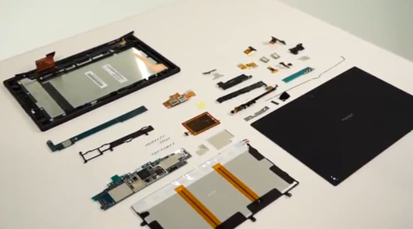 Xperia-Tablet-Z-teardown