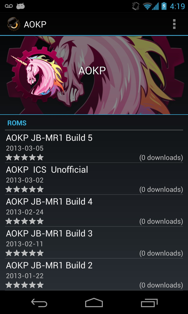 aokp rom manager