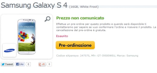 expansys gs4