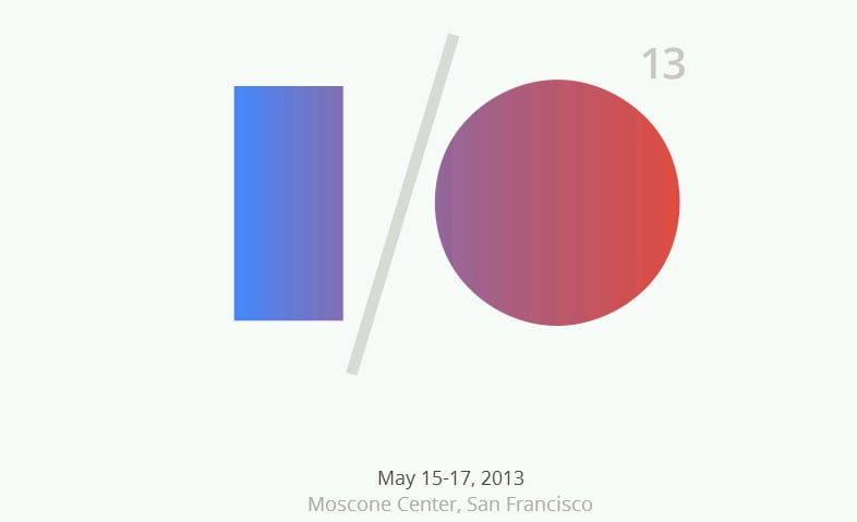 Google I/O 2013: la diretta in streaming