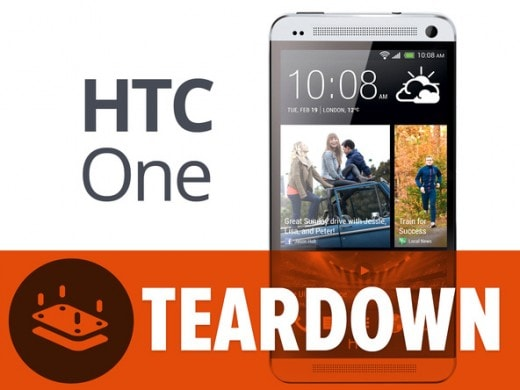 htc one teardown
