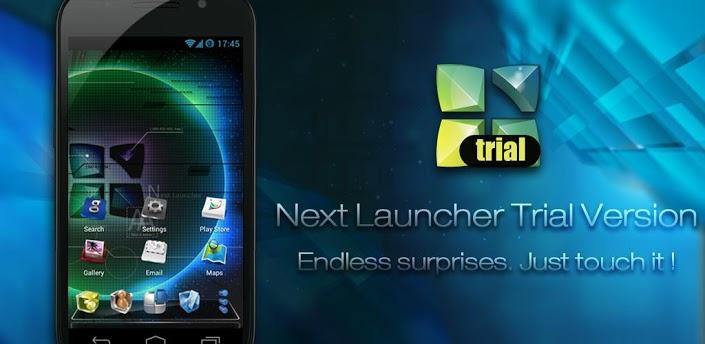 next launcher trial
