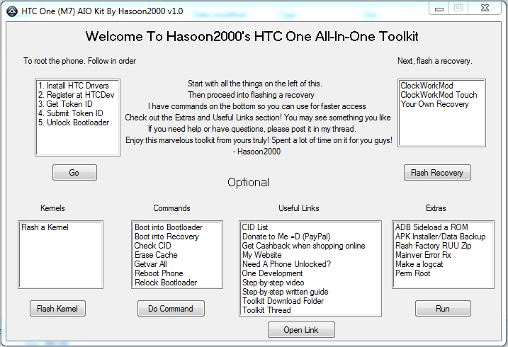 Un toolkit all-in-one per…HTC One!