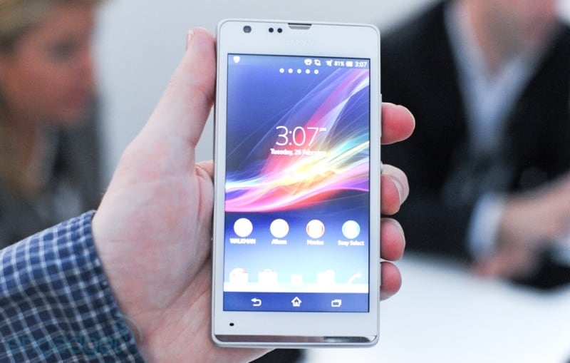 Sony Xperia SP: hands-on