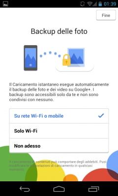 La nuova procedura di configurazione di Google+