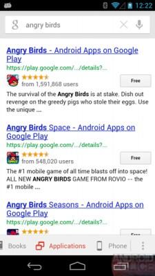 Google now applicazioni