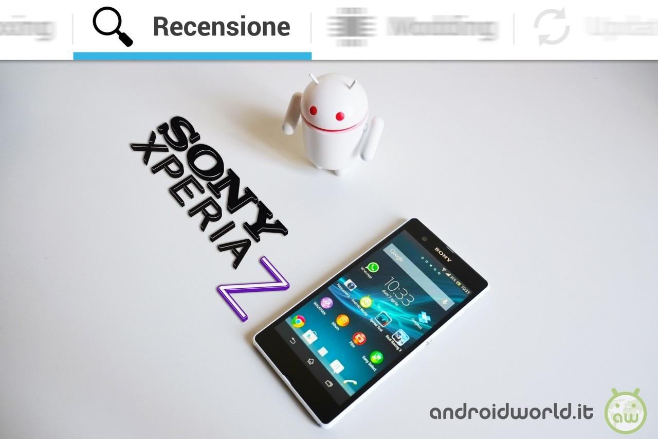 Sony Xperia Z, la recensione completa
