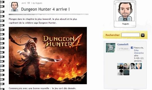 dungeon hunter 4 blog francese