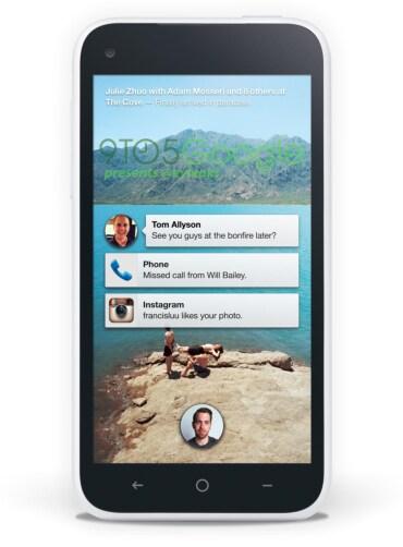"""Prime immagini della nuova """"Facebook Home"""""""