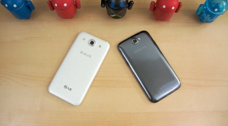LG Optimus G Pro vs Samsung Galaxy Note II