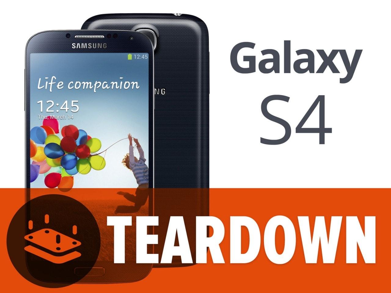 galaxy s4 teardown