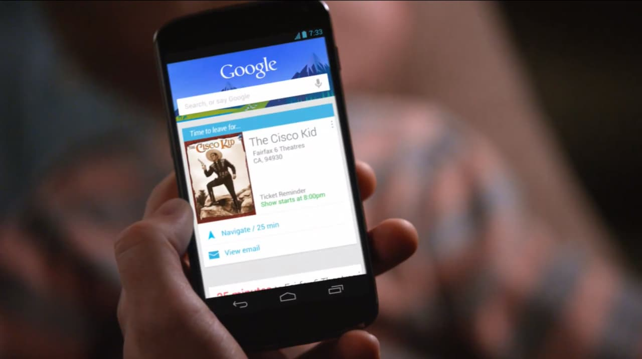 Google Now vince un premio come migliore app utile quotidianamente