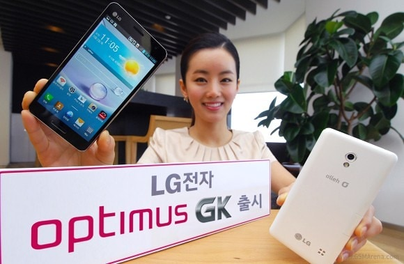 "LG Optimus GK con display da 5"" full HD ufficiale in Corea"