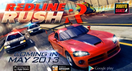 redline rush header