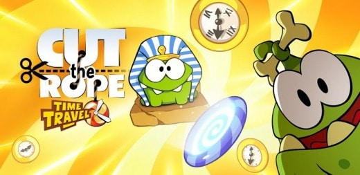 time travel cut the rope