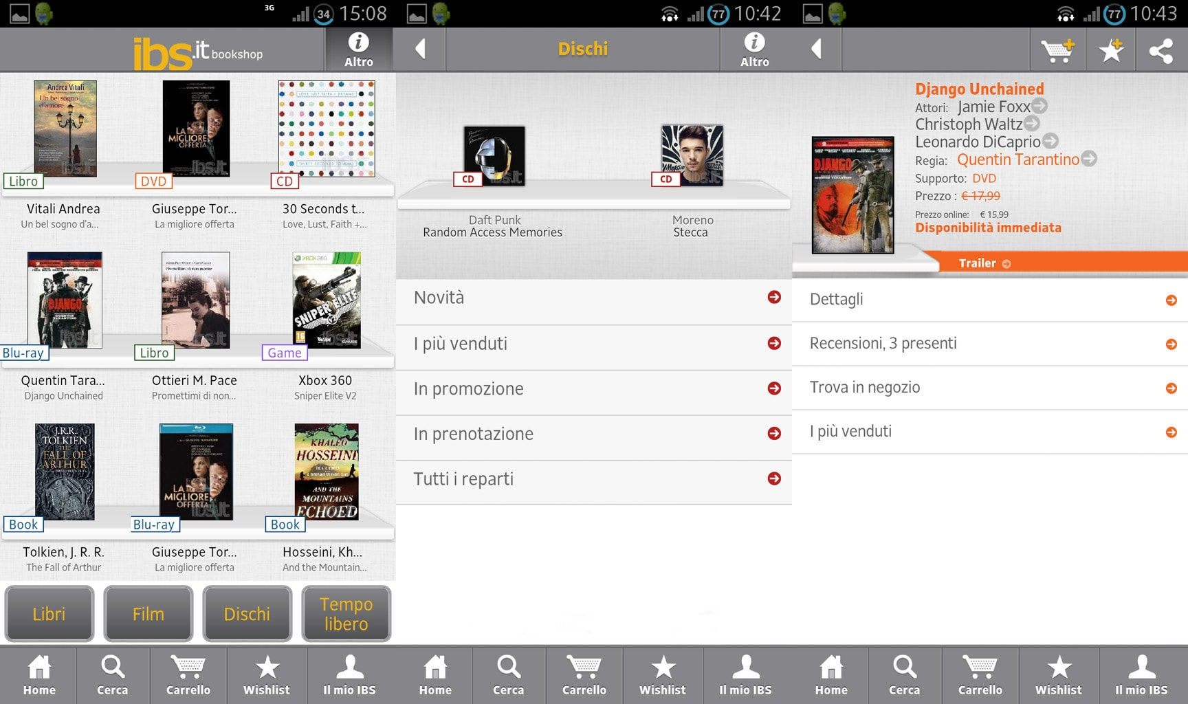 Finalmente disponibile per Android l'app di IBS.it