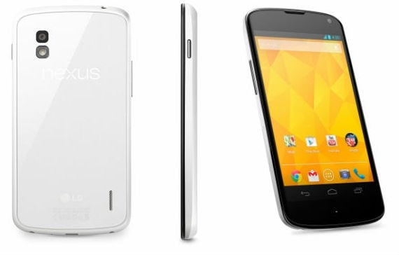 Ecco i render ufficiali del Nexus 4 bianco: lancio imminente?