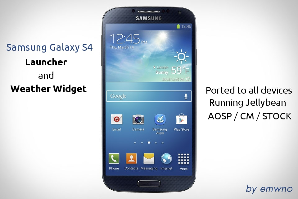Il launcher del Galaxy S4 arriva su tutti i dispositivi con Jelly Bean