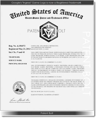 ingress marchio brevettato