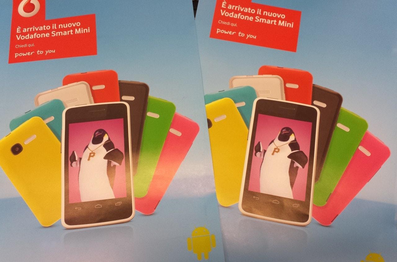 Vodafone Smart Mini in Italia