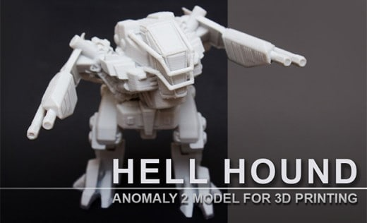 3D print source file