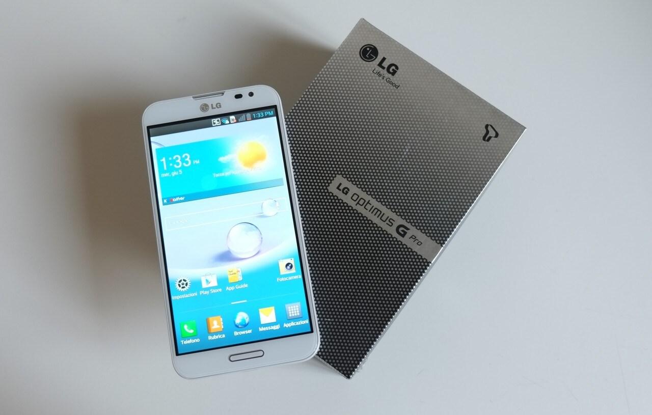 Unboxing LG Optimus G Pro