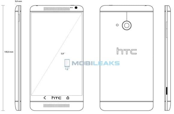 HTC-One-Max-T6-phablet-sketch