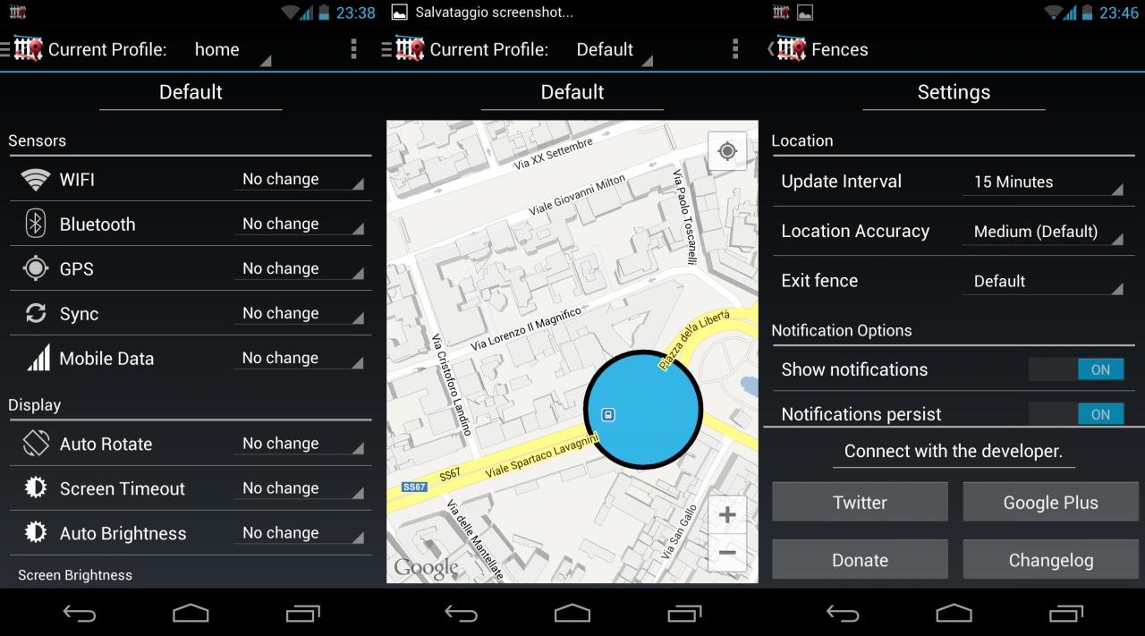 Fences for Android si candida ad essere il miglior modo per gestire i profili