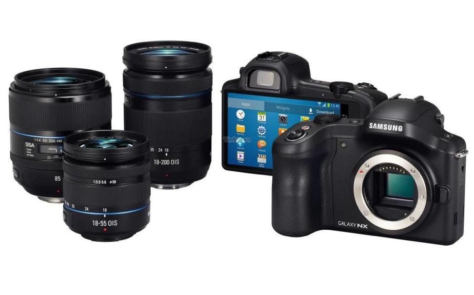 Samsung Galaxy NX Camera: ecco le immagini ufficiali della prima mirrorless con Android